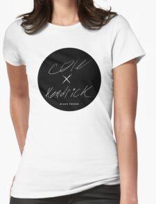J. Cole & Kendrick Lamar - Black Friday Womens Fitted T-Shirt