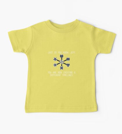 Community: Different Timelines Baby Tee