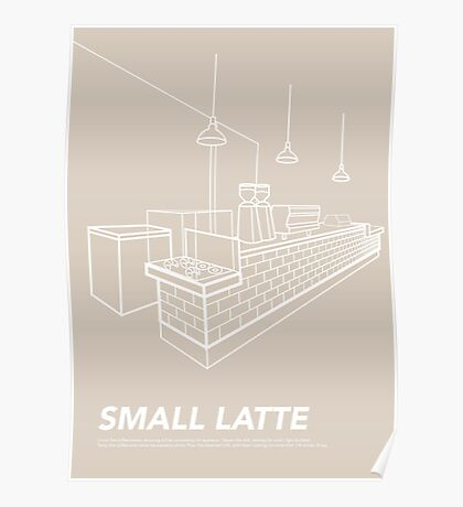 Melbourne Icon - Cafe Poster
