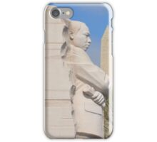 Martin Luther King Jr. Memorial and the Washington Monument iPhone Case/Skin