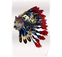 WOLVES and EAGLES Indiana2 Poster
