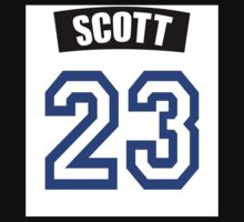 One Tree Hill Nathan Scott Jersey One Piece - Short Sleeve