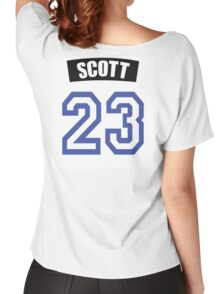 One Tree Hill Nathan Scott Jersey Women's Relaxed Fit T-Shirt