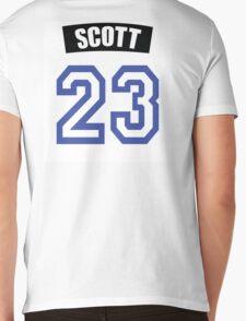 One Tree Hill Nathan Scott Jersey Mens V-Neck T-Shirt