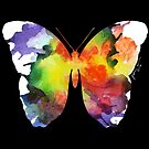 Watercolor Butterfly by Jessica Caldwell