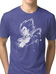 Vegeta Saiyan Tri-blend T-Shirt