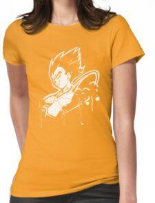 Vegeta Saiyan Womens Fitted T-Shirt