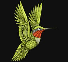Red Throated Hummingbird Unisex T-Shirt
