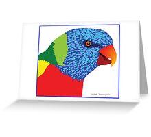 Loorikeet Greeting Card