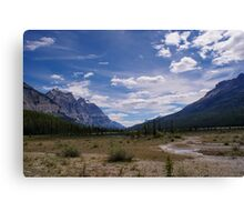 Remote and Lonely Valley Canvas Print