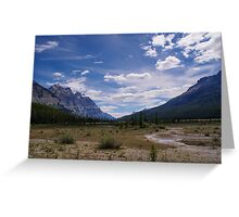 Remote and Lonely Valley Greeting Card