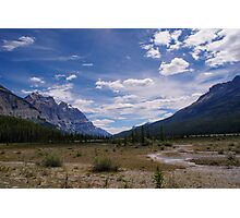 Remote and Lonely Valley Photographic Print