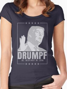 DRUMPF '16 Women's Fitted Scoop T-Shirt