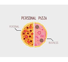 Personal Pizza! Photographic Print
