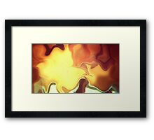 .Her Fire Tree Framed Print