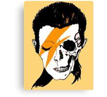 David Bowie Skull Original Aladdin Sane Artwork Canvas Print