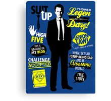 How I Met Your Mother - Barney Canvas Print