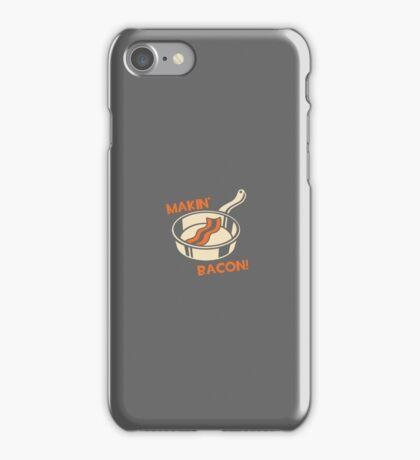 Makin' Bacon iPhone Case/Skin