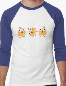 Triple Chick Men's Baseball ¾ T-Shirt