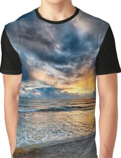 Sunset at Cottesloe 5 Graphic T-Shirt