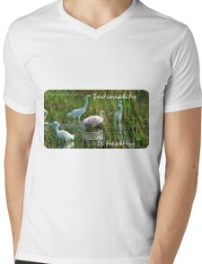 .Individuality Is Healthy Mens V-Neck T-Shirt