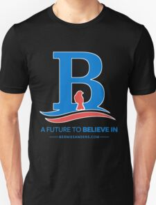 """Bernie Sanders """"A future to believe in""""  Birdie edition shirt and apparel Unisex T-Shirt"""