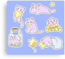Star Kitty Canvas Print