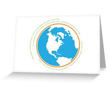 Hello babies. Welcome to Earth. Greeting Card
