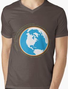 Hello babies. Welcome to Earth. Mens V-Neck T-Shirt