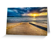 Sunset at Cottesloe 3 Greeting Card