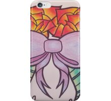 Cute bow and roses iPhone Case/Skin