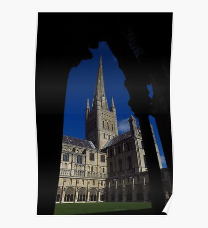 Norwich Cathedral, Cloisters Arch Poster