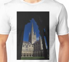 Norwich Cathedral, Cloisters Arch Unisex T-Shirt