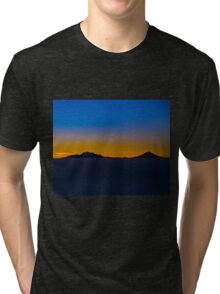 Popocatepetl and Iztaccihuatl Tri-blend T-Shirt