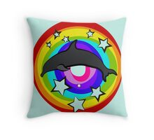 So long and Thanks for all the fish.  Throw Pillow
