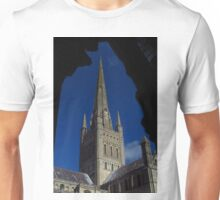 Norwich Cathedral, Tower & Spire Unisex T-Shirt