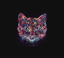 colorful cat head Unisex T-Shirt