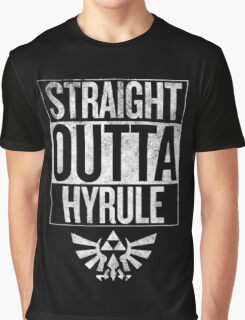 Straight Outta Hyrule Graphic T-Shirt