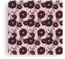 Garden Pink Canvas Print