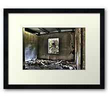 Room of Doom Framed Print