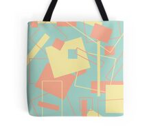 60's Style in Fashion Colors Var 10 Tote Bag