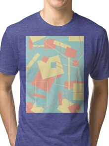 60's Style in Fashion Colors Var 10 Tri-blend T-Shirt