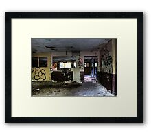 Dance Room Framed Print