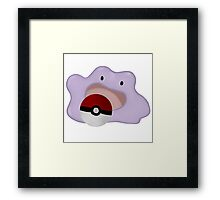 ditto Framed Print