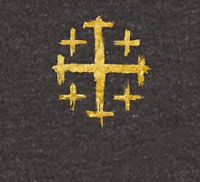 Crusader's Cross - Gold Edition Unisex T-Shirt