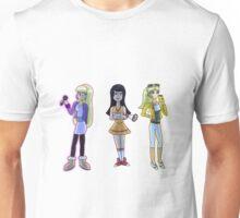 Rich and Popular Cartoon Girls Unisex T-Shirt
