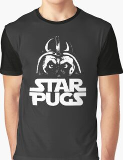Star Pugs Graphic T-Shirt