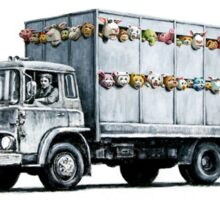 banksy ''zoo'' Sticker