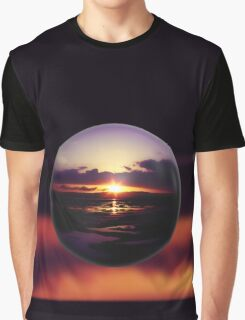 Float on the clouds like a drop of dew and bask in the light of a sunrise view Graphic T-Shirt