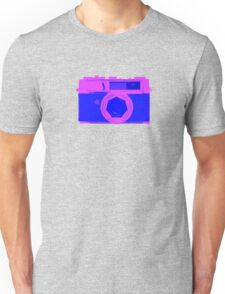 YASHICA Illustration Pink & Blue Unisex T-Shirt